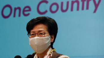 Kettős mérce miatt bírálta az USA-t Hongkong kormányzója