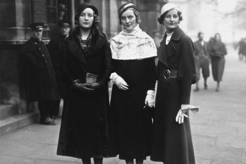 Unity, Diana és Nancy Mitford