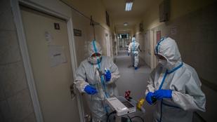 1210 főre nőtt az aktív esetek száma, elhunyt öt beteg