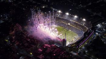 A Boca Juniors stadionjának őrült hangulata verhetetlen