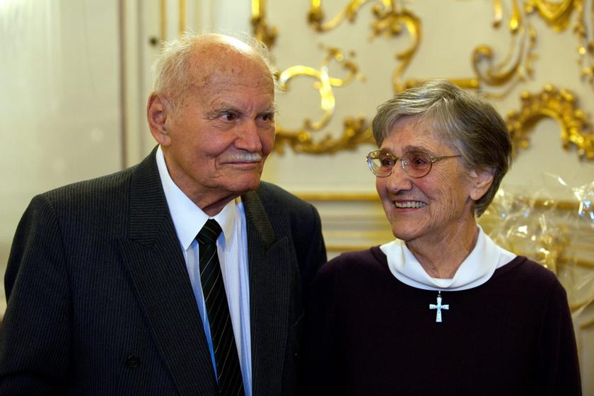 Elhunyt Göncz Árpádné: a néhai köztársasági elnök özvegye 96 éves volt