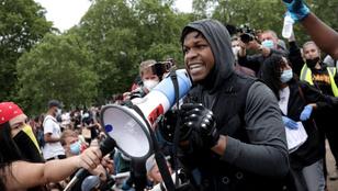 A Star Wars egyik színésze vezette a londoni szimpátiatüntetést