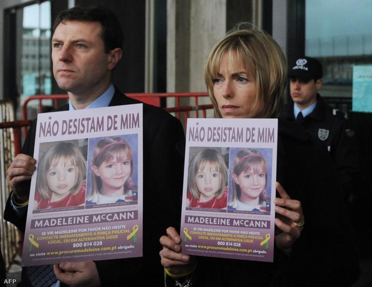 A McCann szülők 2010-ben