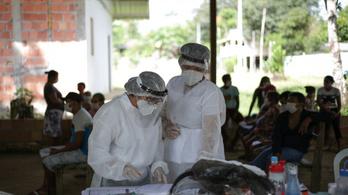 Latin-Amerikában még javában tombol a járvány