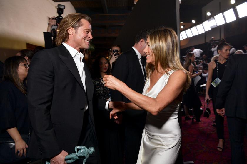 2020 januárjában a SAG Awardson kapták le őket, nagyon örültek egymásnak.