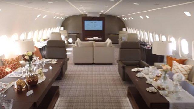 Ilyen a világ egyetlen privát Dreamlinere belülről