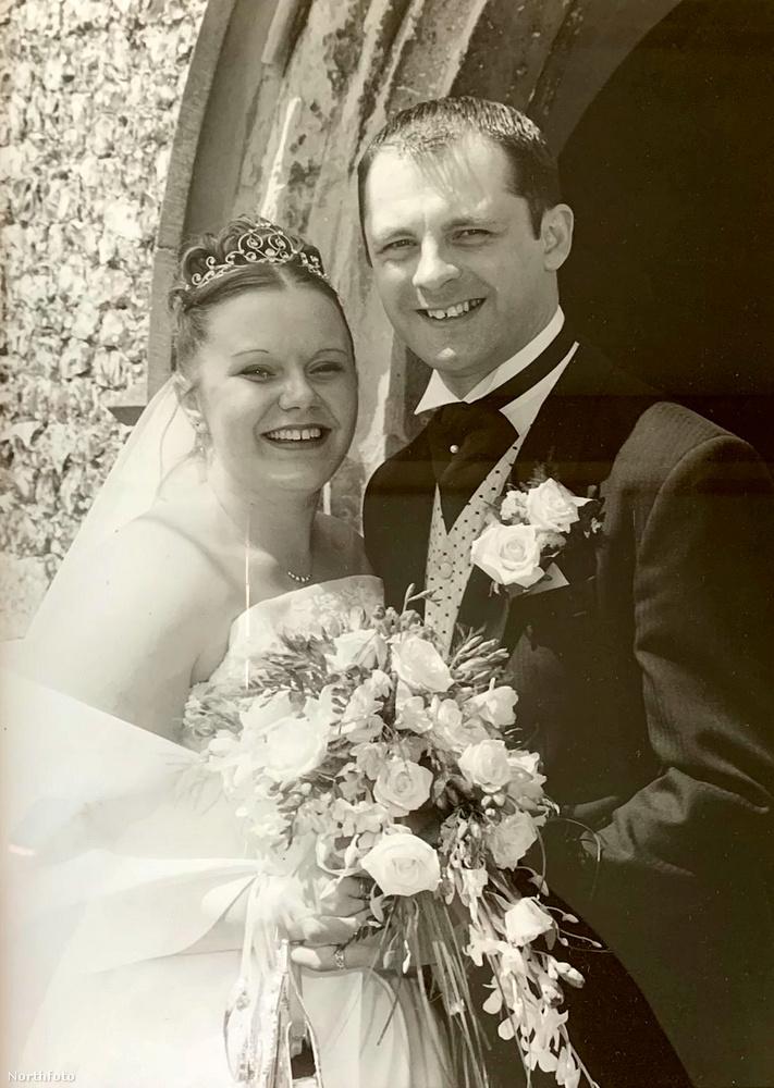 Steph Gill esküvője napján 114 kilót nyomott, így férje sajnos nem bírta el