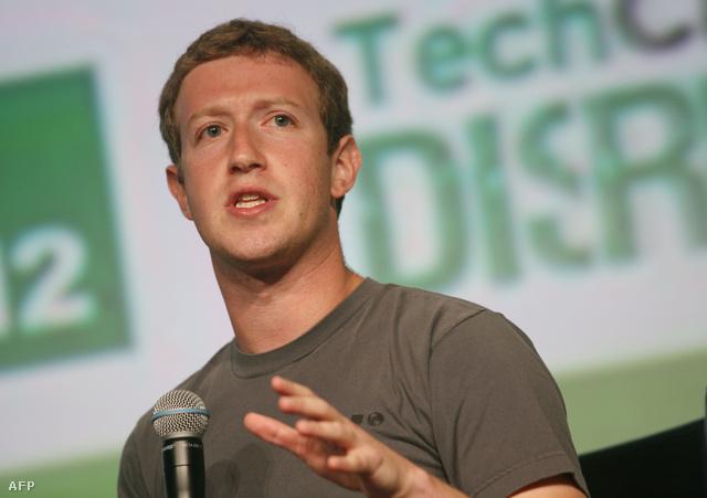 Mark Zuckerberg San francisco-i előadása