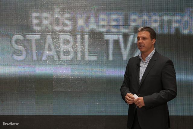 Simon Zsolt, a Tv2 vezérigazgatója stabilitást és erőt ígér