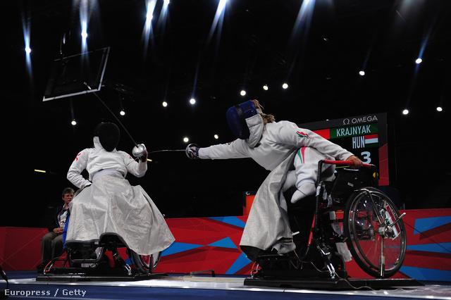 Krajnyák Zsuzsa a paralimpián. Nézze meg Nagyképes galériánkat a paralimpiáról!