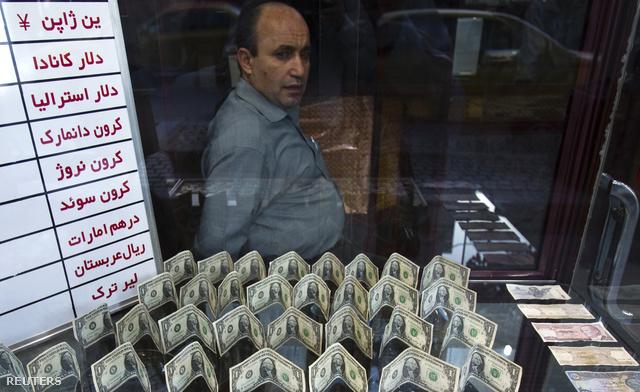 Pénzváltó Teheránban