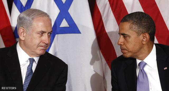 Netanyahu és Obama