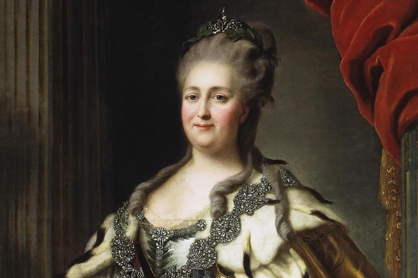 Így élt Oroszország történetének leghatalmasabb női uralkodója: férjétől vette el a trónt a rendkívül okos Nagy Katalin