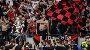 A BBC kiszúrta: az ultrák nem tartották a távolságot a kupadöntőn