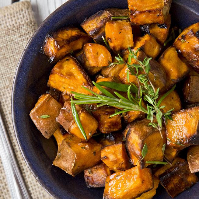 Tepsiben sült, ropogós édesburgonya – Különleges köret, ha unod a sima krumplit