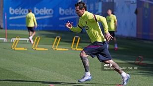 Megsérült Messi, hiányozhat a szezon újraindulásakor