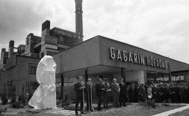 A Gagarin Hőerőmű (ma Mátrai Erőmű) avatási ünnepségem 1973. május 25-én
