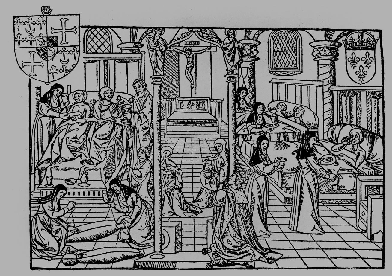 középkori kórház 2 párizs nyitó