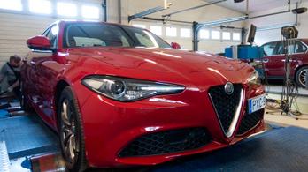 Totalcar Erőmérő: Alfa Romeo Giulia (2,0 Turbo MultiAir)