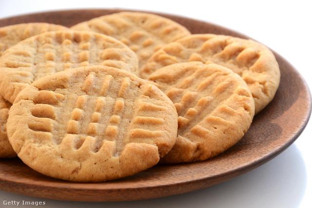 Percek alatt elfogy ez az isteni mogyoróvajas keksz.