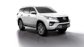 Alvázas terepjáróból is újat készített a Toyota
