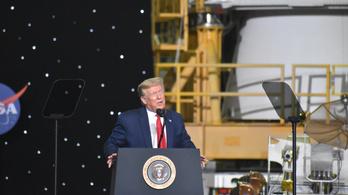 Trump a NASA-val reklámozta magát, az ügynökség leszedette a videót