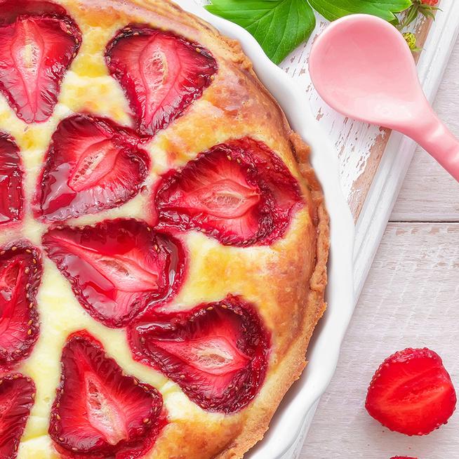 35 perc alatt kész a kevert epres süti – Kezdők is bátran megsüthetik