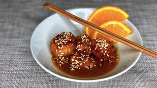 A kínai narancsos karfiol hús nélkül is zseniális: glutén-, tej-, tojásmentes, vegán verzió