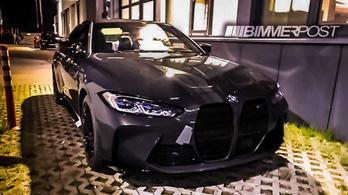 Kémfotókon a BMW M4-es