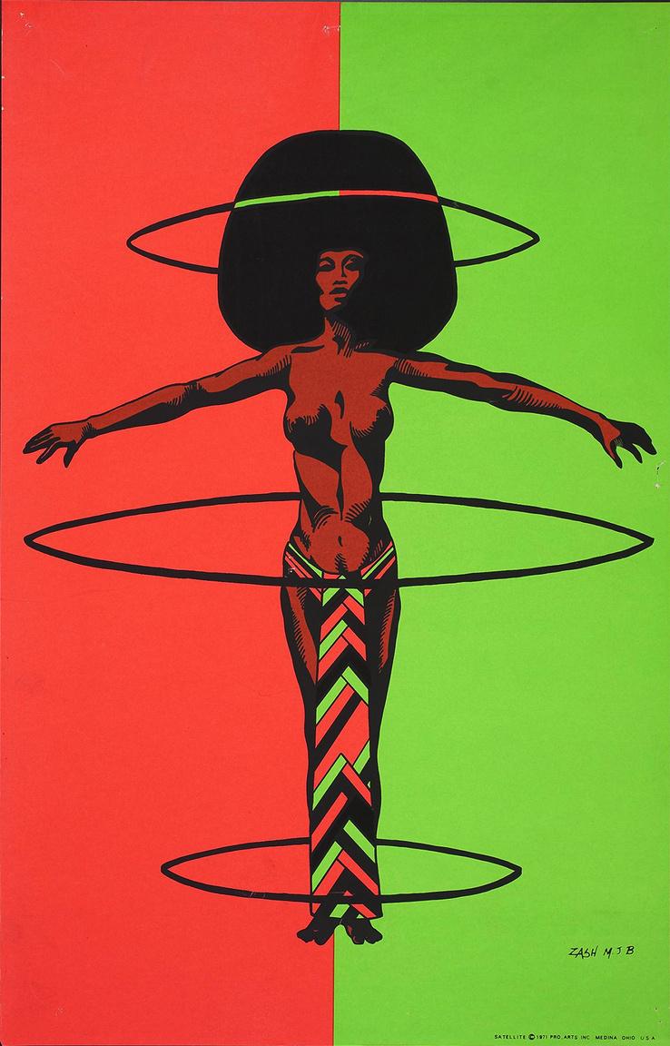 1971-es művészi plakát.