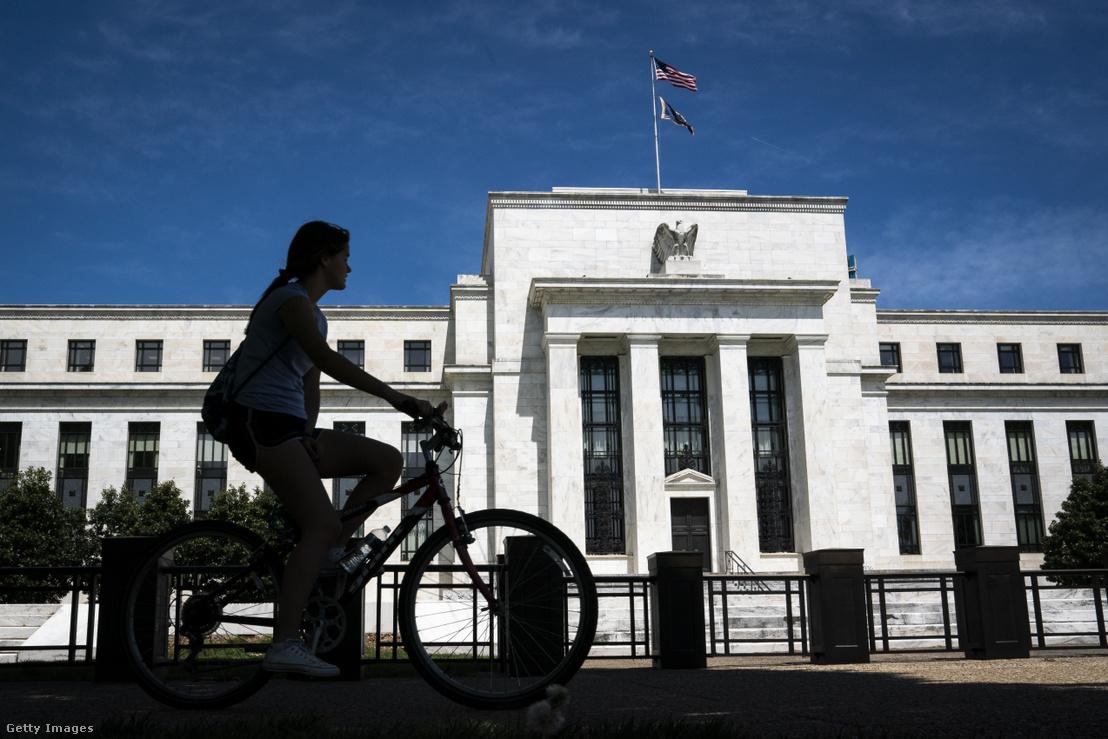 A Fed épülete Washingtonban 2018-ban