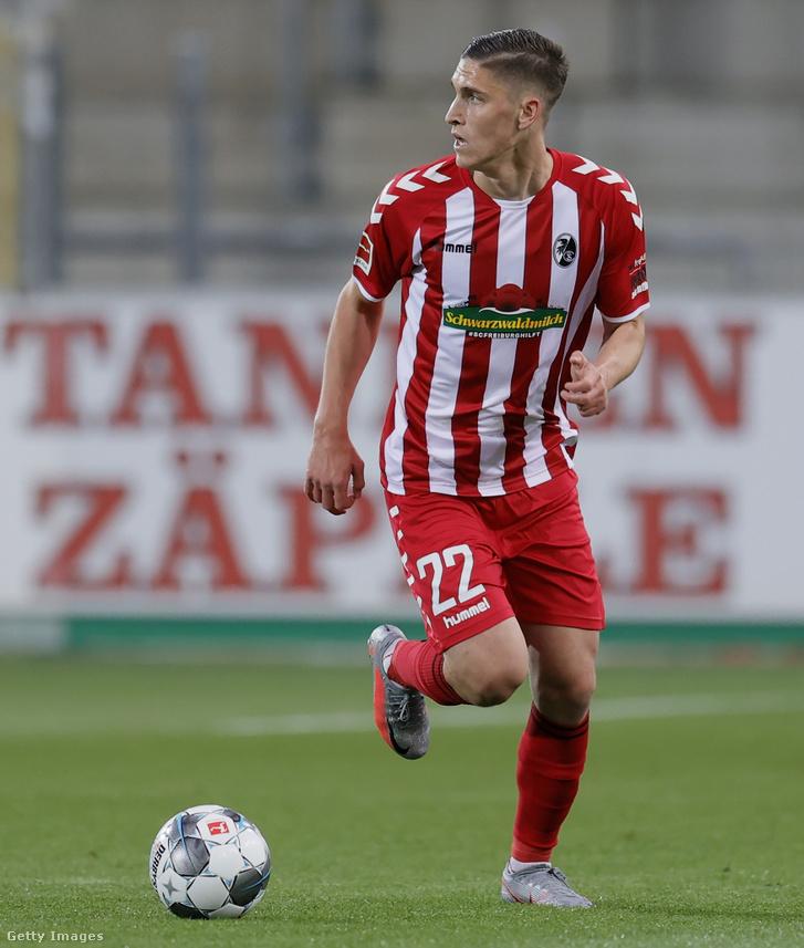 Sallai a Mönchengladbach ellen is kezdett