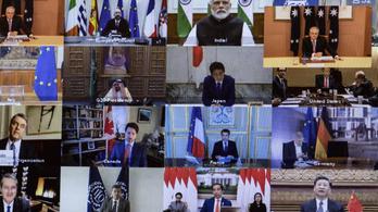 G20: Hatezer milliárd forintot adtak a járvány elleni küzdelemre