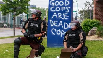 Vannak, akik feloszlatnák a rendőrséget Amerikában