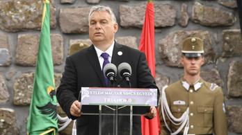 Orbán: A száz év magány véget ért, ma ismét győzelemre állunk