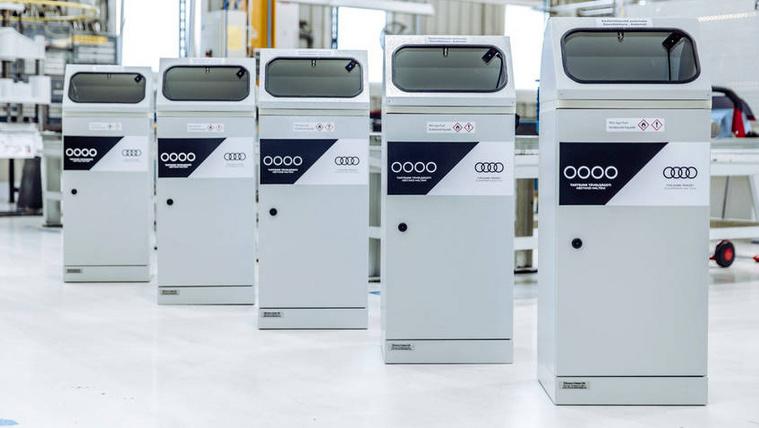 Saját fejlesztésű kézfertőtlenítő automatát szabadalmaztatnak a győri Audinál