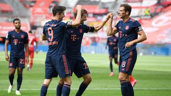 Gálázott a Bayern, Gulácsi Péter a hosszabbításban kapott gólt