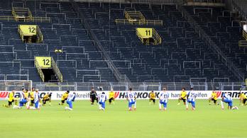 Nem enged a rasszizmusnak a Bundesliga