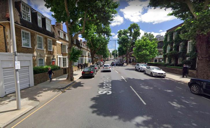 A Sloane Avenue Londonban