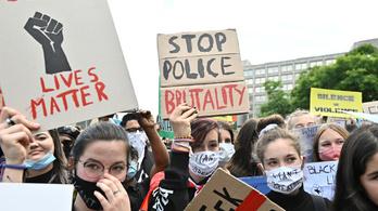 Tízezrek tüntettek az egész világon George Floyd emlékére