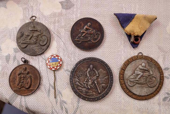 Néhány a trófeák közül