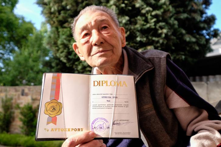 Imre bácsi idén lesz 87 éves