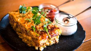Lecsós-darált húsos rakott tészta – magyaros fogás egyszerűen