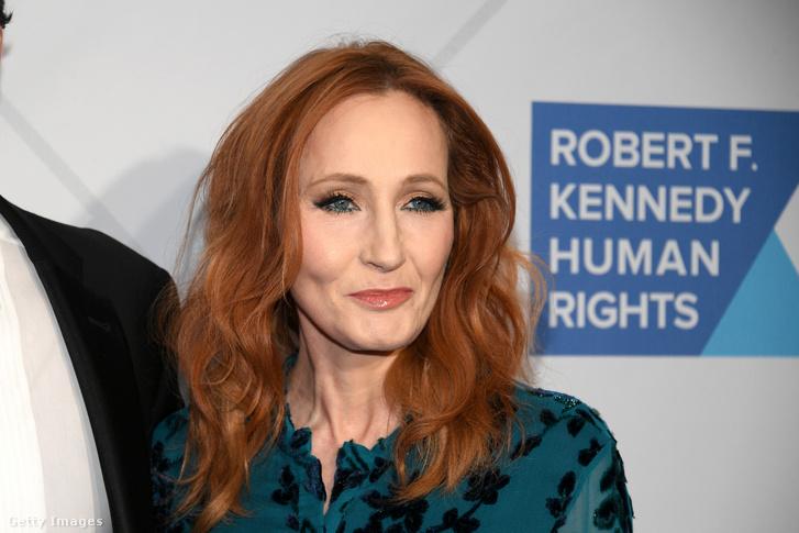 Rowling egy emberjogi rendezvényen 2019 decemberében.