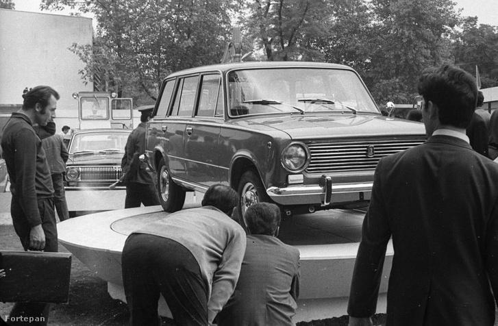 Lada 1200 Combi először a BNV-n
