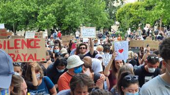 Ezren gyűltek össze a Black Lives Matter budapesti tüntetésén