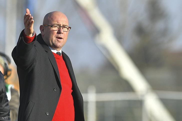 Kondás Elemér 2017-ben, még a Kisvárda vezetőedzőjeként