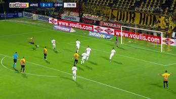 Elsült Korhut lába a görög bajnokságban
