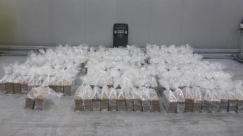 Két tonna kokaint küldtek banán közé rejtve egy magyar cégnek