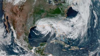 300 km-es sávban pusztító, brutális vihar érte el Louisianát